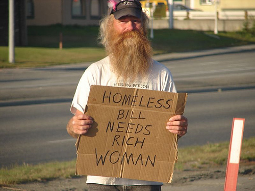 Homeless Bill needs to get out of Dodge